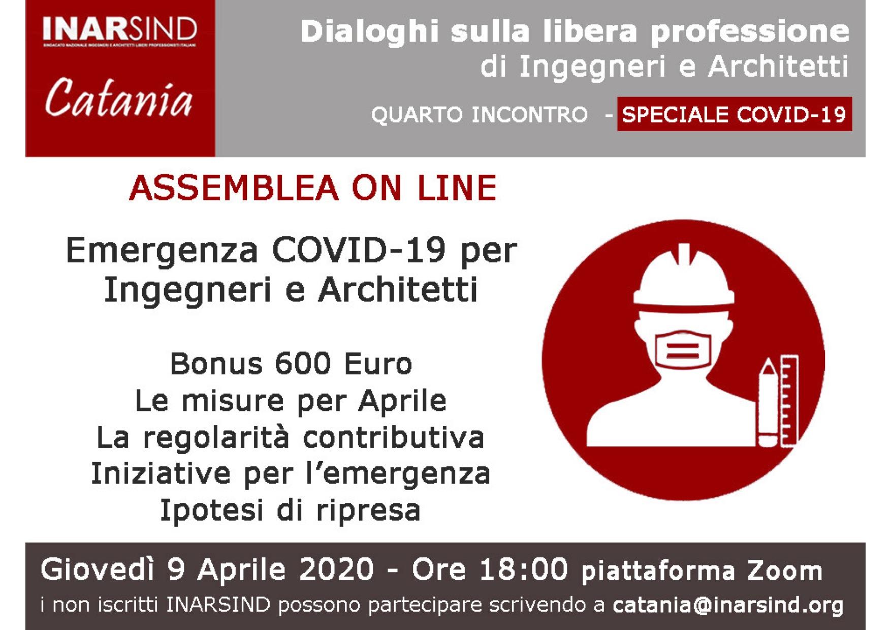 Architetto Catania Lavoro fase 2 - come sarà il lavoro per ingegneri e architetti alla
